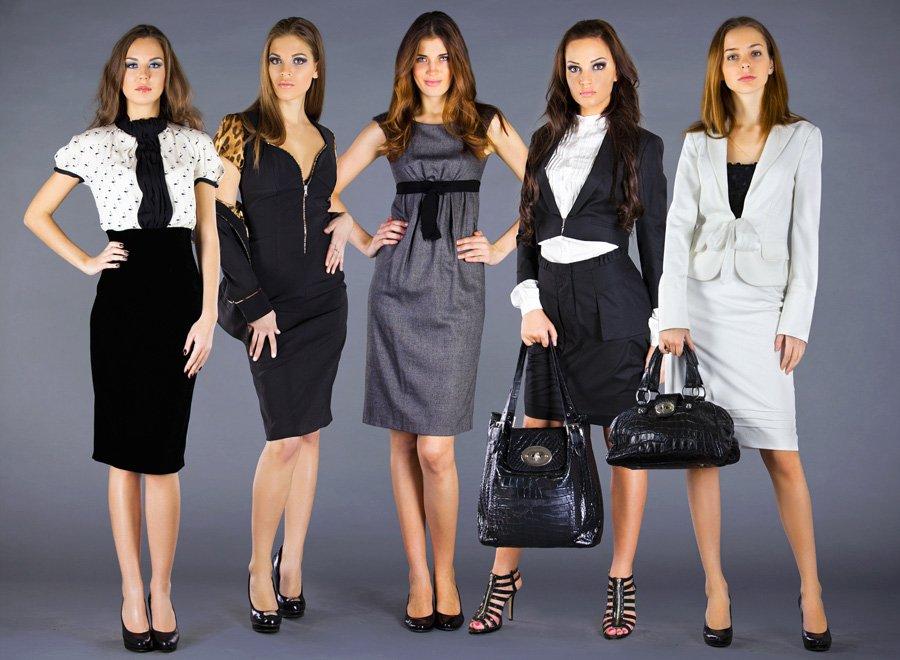 Официальный стиль одежды: женские костюмы для офиса и их фото